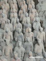 CHINA. XI'AN. GUERREROS DE TERRACOTA